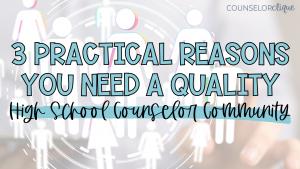 High School Counselor Community